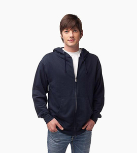 Independent trading company standard supply series men s zip hood   navy
