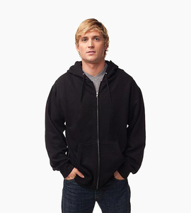 Independent trading company standard supply series men s zip hood   black