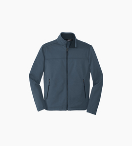The north face ridgeline soft shell jacket   shady blue