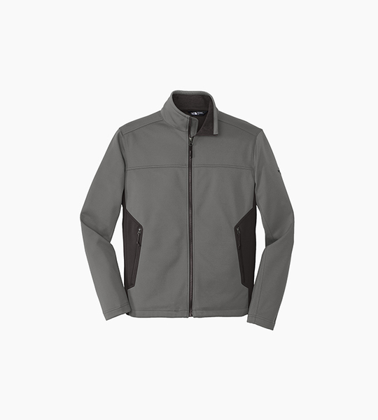 The north face ridgeline soft shell jacket   asphalt grey black
