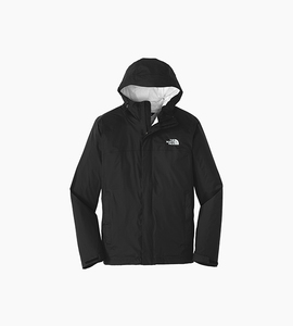 The north face dryvent rain jacket   tnf black