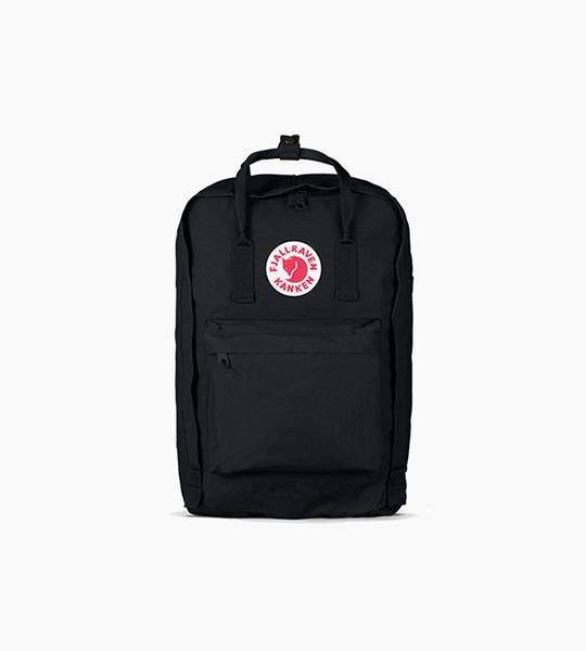 Fjallraven kanken 15  laptop backpack   black
