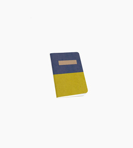 Scout books notebook   blue yellow