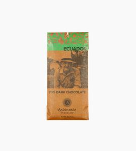 Askinosie chocolate signature bars   san jose del tambo ecuador dark chocolate