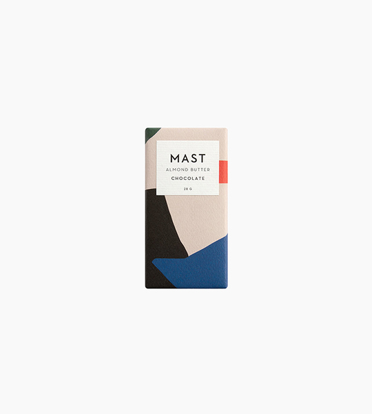 Mast chocolate 1 oz bar   almond butter