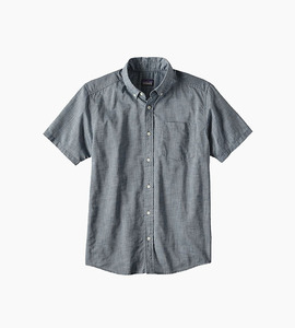 Patagonia lightweight bluffside shirt   chambray bay blue