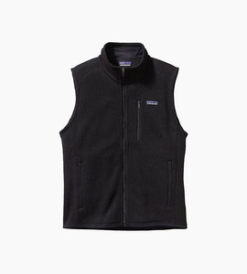 Patagonia m s better sweater  vest   black