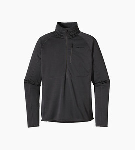 Patagonia m s r1  fleece pullover   black