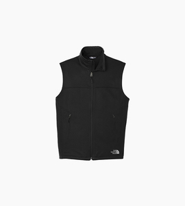 The north face ridgeline soft shell vest   tnf black
