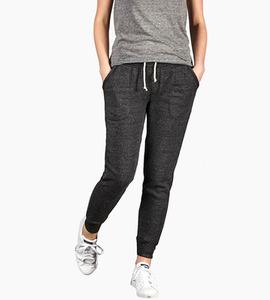 Alternative apparel eco fleece jogger pants   eco black