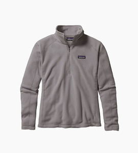 Patagonia women s micro d  pullover   feather grey