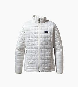 Patagonia women s nano puff  jacket   birch white