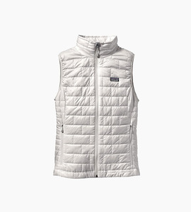 Patagonia women s nano puff  vest   birch white