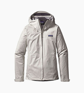 Patagonia women s torrentshell jacket   birch white