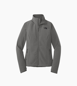 The north face ladies apex barrier soft shell jacket   asphalt grey