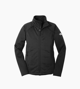 The north face ladies ridgeline soft shell jacket   tnf black