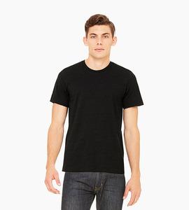 Bella   canvas unisex jersey short sleeve tee   black heather