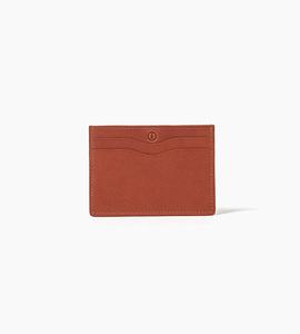 Linjer cardholder wallet   cognac