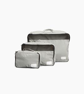 Rawrow travel pouch set   grey