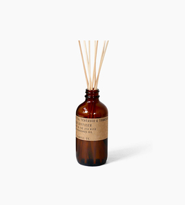 Pf candle co reed diffuser   teakwood   tobacco