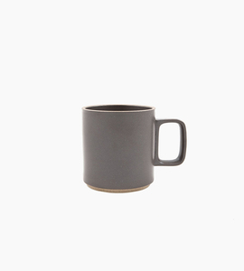 Hasami porcelain mug 13 oz   black