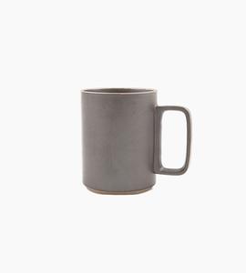 Hasami porcelain mug 15 oz   black