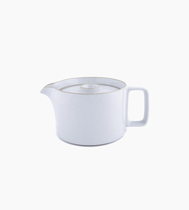 Hasami porcelain tea pot   gloss grey