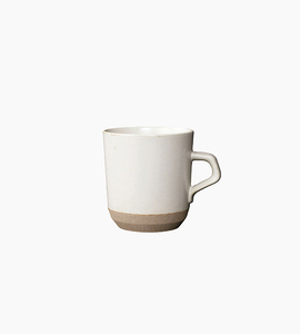 Kinto ceramic lab large mug   white