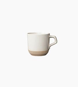 Kinto ceramic lab small mug   white