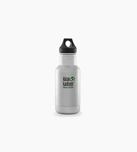 Klean kanteen insulated classic 12oz w loop cap   stainless