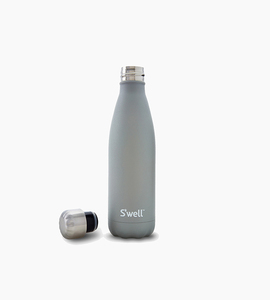 S well s well bottle   stone collection 17oz   smokey quartz