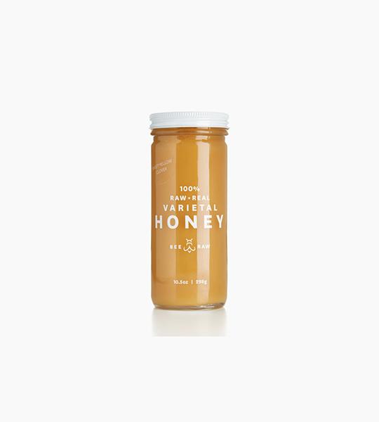 Bee raw colorado sweet yellow clover honey