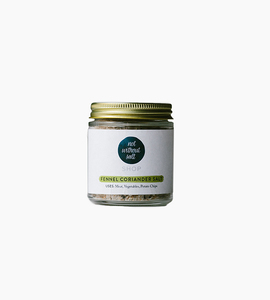 Not without salt finishing salt  4 oz   fennel coriander