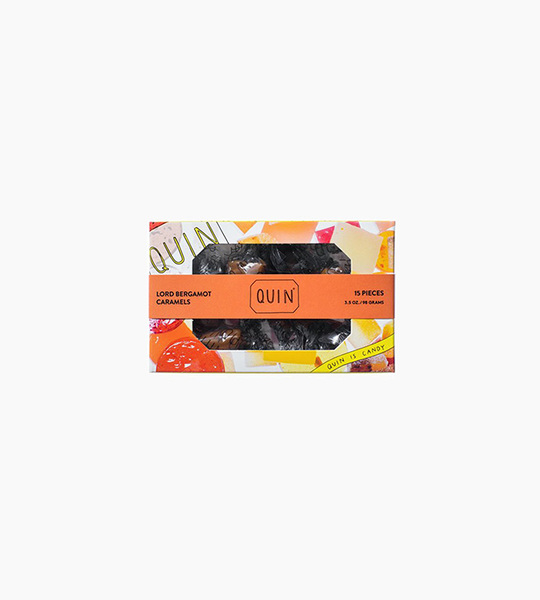 Quin candy lord bergamot caramels