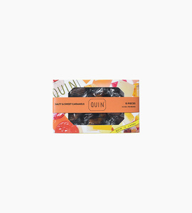 Quin candy salty   sweet caramels