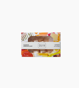 Quin candy tangerine sparkling candy