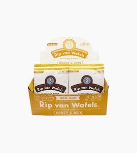 Rip van wafels honey and oats caddie