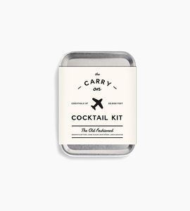 W p design carry on cocktail kit   the old fashioned