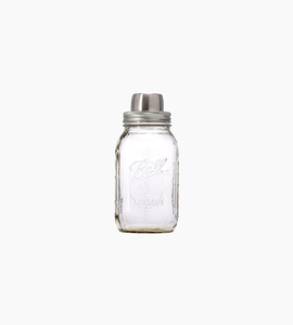 W p design the mason shaker   stainless steel